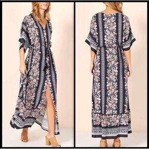 MINKPINK Floral Maxi Dress